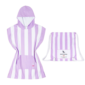 Dock & Bay Kids Poncho, Brighton Purple