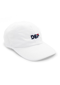 Def Bubblehead Dad Sport Cap, White