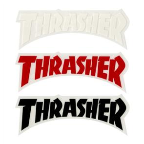 Thrasher Logo Die Cut Sticker, Assorted