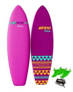 El Nino Diva Softboard, Pink