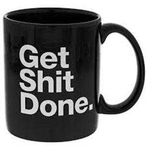 PlugNZ Get SHit Done Mug