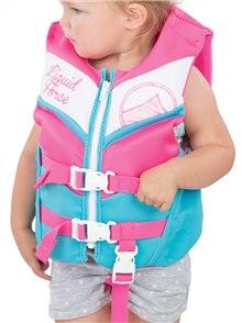 Liquid Force Junior Dream Cga Infant Vest,  Blue Pink