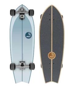 "SLIDE Drifter Fish 32"" Surf Skateboard"