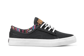 DVS Aversa+ Womens Shoe, 961 Black Multi Canvas