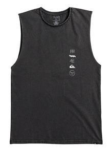 Quiksilver Peaks Muscle Tees Kvj0, Black