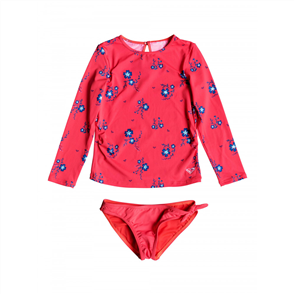 Roxy Girls Chill After LS Lycra Set, Odalisca Swim Spaced