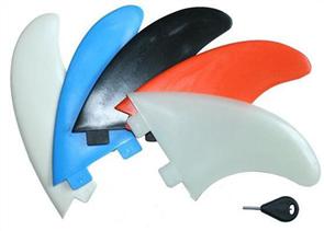Curve Nylon Thruster N1 Fin Set, Bone