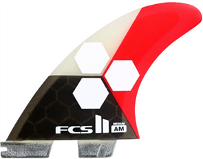 FCS II AM PC Medium Flame Tri-Quad Retail Fins