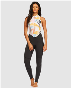 Billabong SALTY JANE SLEEVELESS STEAMER, HEAT WAVE