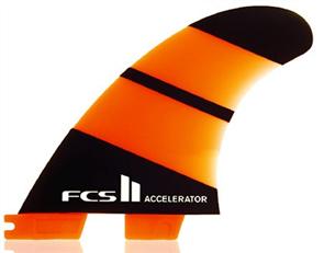 FCS II Accelerator Neo Glass Large Thruster Fins