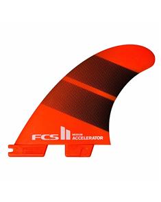 FCS II Accelerator Neo Glass Medium Tang Gradient Tri Fins
