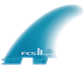 FCS II Carver GF Medium Quad Rear Shaper Fins
