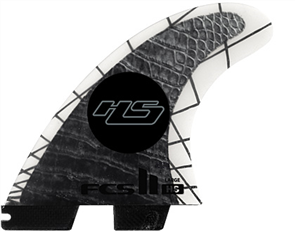 FCS FCS II HS PC Carbon Medium Tri Retail Fins