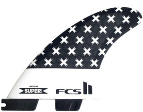 FCS II Super Brand PC Medium Tri Retail Fins