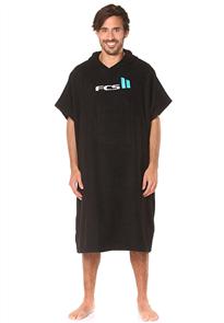 FCS Mens Hooded Towel - Black