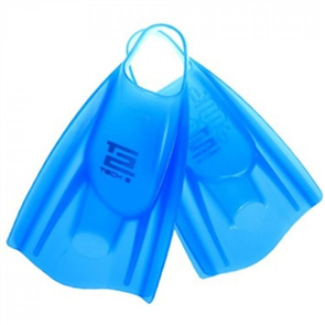 FCS Tech 2 Soft Swim Fin, Ice Blue