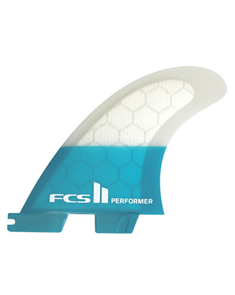 FCS II Performer PC Teal Medium Tri Retail Fins