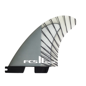 FCS II Reactor PCC Carbon Charcoal Large Thruster Fins