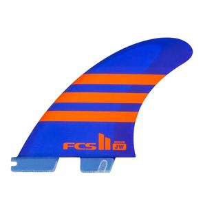FCS II JW Pc Ltd Edn Tri Fins, Blue Orange