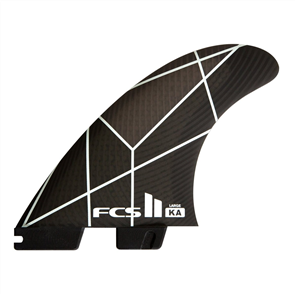 FCS II Kalioa Andino PC Medium White/Grey Tri Fins