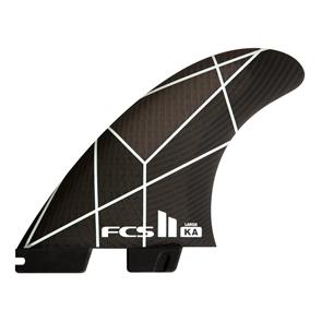 FCS II kalioa andino PC White/Grey Large Tri  Fins
