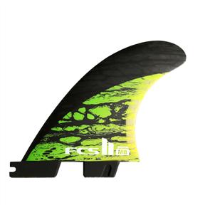 FCS II MB Pcc Tri Fins - Matt Biolis, Green