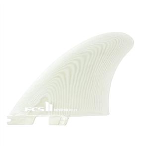 FCS II Modern Keel PG Clear Twin  Fins