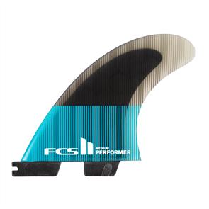 FCS II Performer PC Teal Medium Thruster Fins.