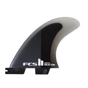 FCS II Reactor PC Charcoal Medium Thruster Fins