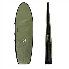Creatures Of Leisure Fish Day Use DT2.0 Surfboard Bag, Military/ Blk