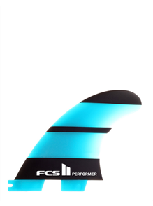 FCS II Performer Neo Glass Med Tri Retail Fins