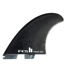 FCS II Power Twin+1 PG Black  Fins