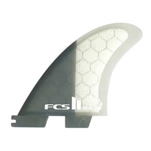 FCS II Reactor PC Charcoal Medium Thruster Fins