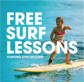 US Free Learn to Surf Lessons with Us