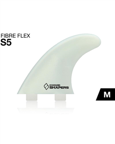 Shapers FIBRE FLEX S5 MEDIUM 3-FIN DUAL TAB