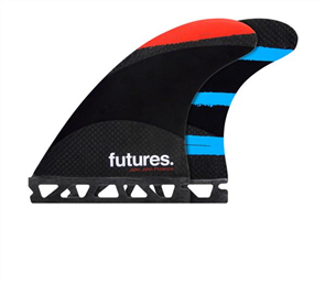 Futures John John Techflex, Red-Orange-Teal