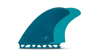 Futures Fiberglass Twin Fin Set