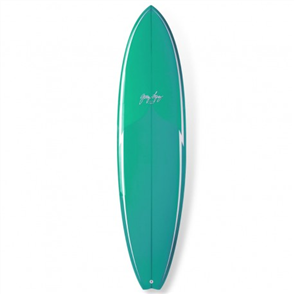 Gerry Lopez Little Darlin PU Five-fin, Torquoise, 6'4