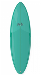 Gerry Lopez Squirty Five-fin Surfboard, Green