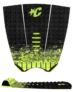 Creatures Of Leisure Mick Fanning Grip, Black Fade Lime