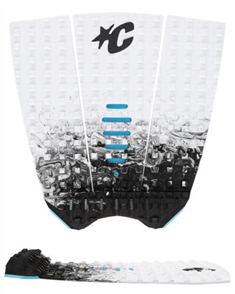 Creatures Of Leisure Mick Fanning Grip, White Fade Black
