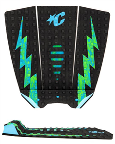 Creatures Of Leisure Mick E Fanning Lite Grip, Black Cyan Gs