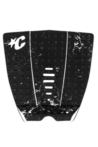 Creatures Of Leisure Mick Fanning Lite Tail Pad, Black Mix White