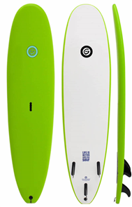 Gnaraloo Beach Cruiser Surfboard, Lime