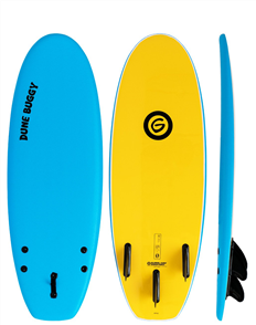 Gnaraloo Dune Buggy Softboard, Blue Yellow