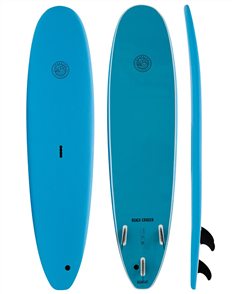 Gnaraloo Beach Cruiser Blue Blue Soft Surfboard