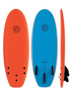 Gnaraloo Dune Buggy Orange Blue Soft Surfboard