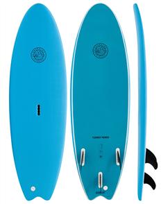 Gnaraloo Flounder Pounder Blue Blue Soft Surfboard