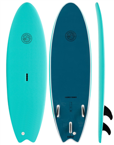 Gnaraloo Flounder Pounder Torq Steel Soft Surfboard
