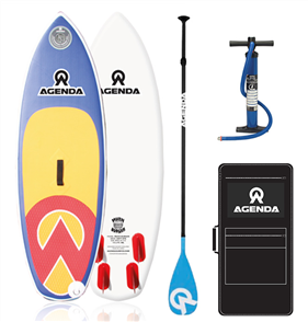 Agenda The Grom Kids Isup 6'0 combo with F/Glass Paddle